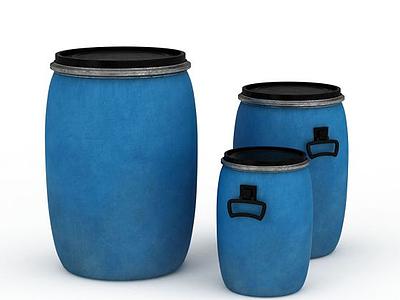 3d鐵桶免費模型