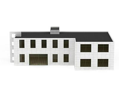 3d樓房建筑模型