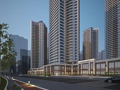 現代高層住宅商業模型