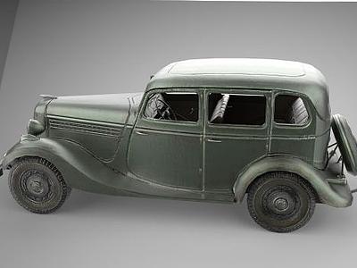 老爺汽車模型3d模型