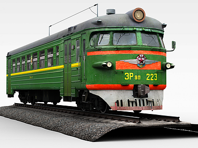 3d載客<font class='myIsRed'>火車</font>模型