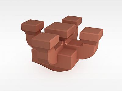 3d補間鋪作模型