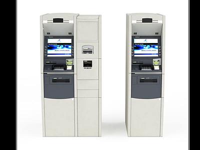 3d自動購票機免費模型
