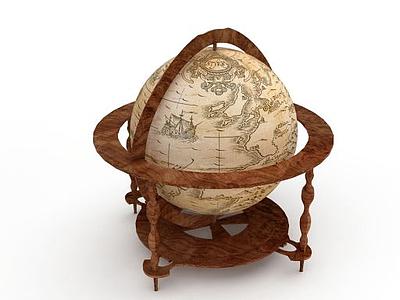 3d教學<font class='myIsRed'>地球</font>儀免費模型