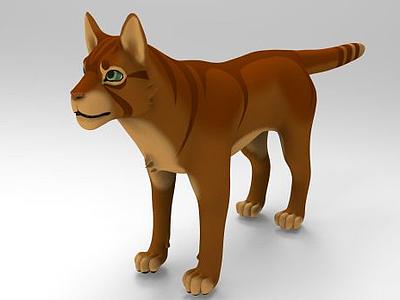 卡通狗模型3d模型