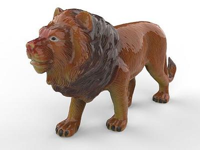 獅子模型3d模型