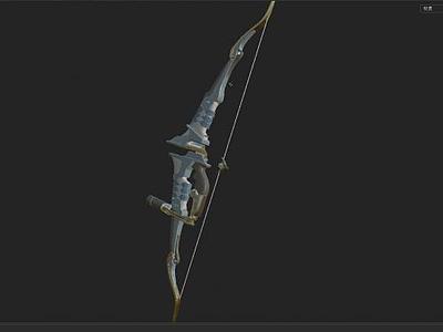 風弓模型3d模型