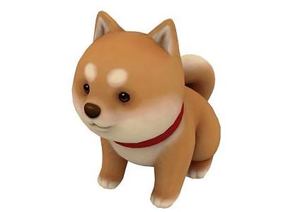 小狗模型3d模型