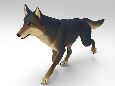 野狼模型3d模型