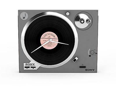 索尼唱片機模型