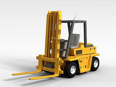3d交通搬運車模型