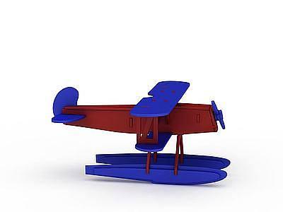 卡通飛機模型3d模型