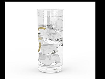 3d冰鎮飲料模型