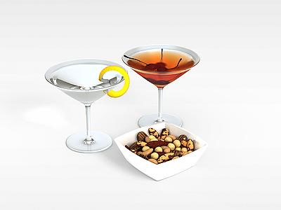 3d柚子飲料模型