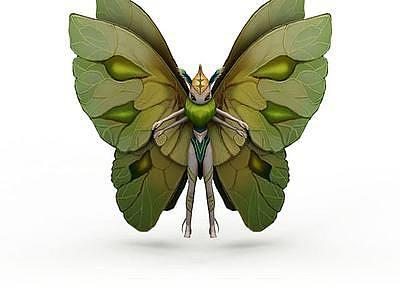 蝶精靈模型