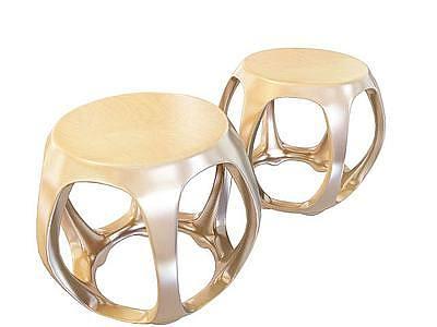 現代鼓凳模型
