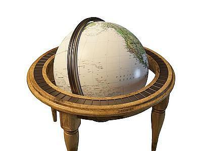 3d<font class='myIsRed'>地球</font>儀免費模型