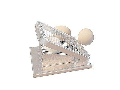 C4D切蛋器免費3d模型模型