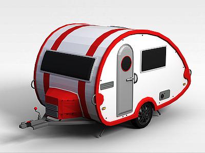 C4D3d快餐車免費模型模型
