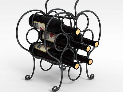 3d歐洲紅酒模型