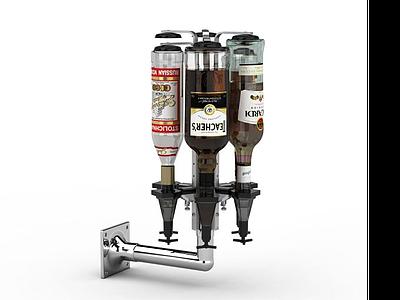 小型啤酒機模型