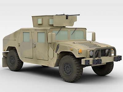 3d軍事交通工具模型