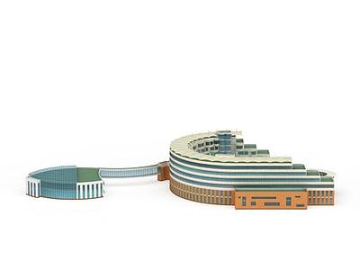 3d創意建筑模型