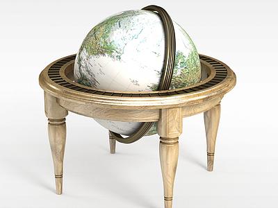 3d超大金屬<font class='myIsRed'>地球</font>儀模型