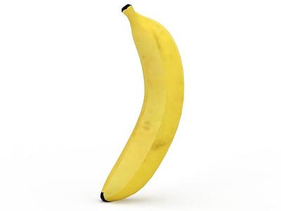 3d香蕉模型