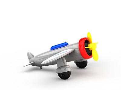 玩具飛機模型3d模型
