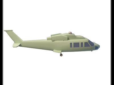 兒童飛機模型3d模型