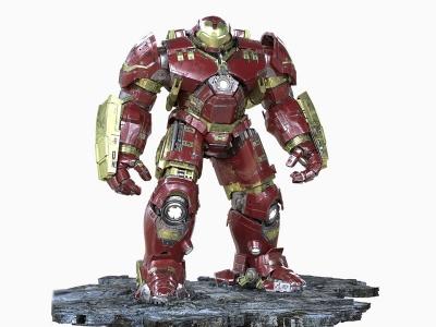 現代科幻鋼鐵俠浩克裝甲模型3d模型