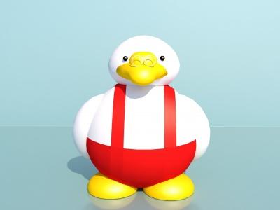 兒童玩具小鴨子玩偶模型