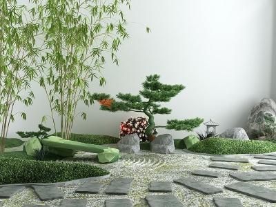 C4D園林景觀模型