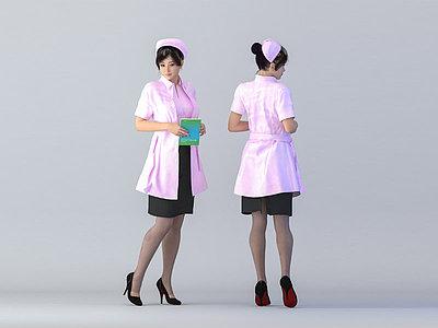 醫生模型3d模型