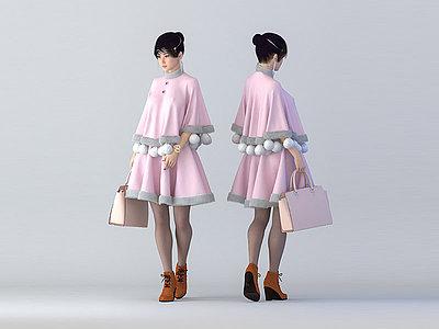 絨衣模型3d模型