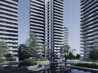 高層住宅模型