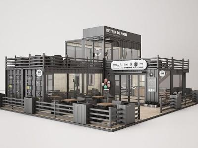 快餐廳模型3d模型