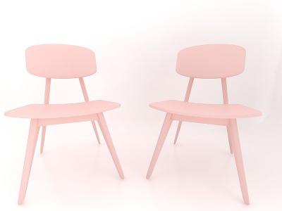 現代風格凳子3d模型