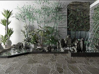 景觀模型3d模型