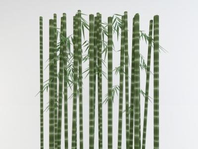 竹子竹竿植物盆栽模型3d模型