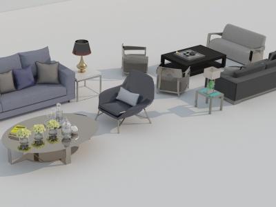 沙發3d模型