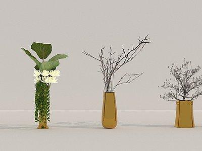綠植3d模型