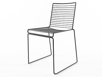 單椅模型3d模型