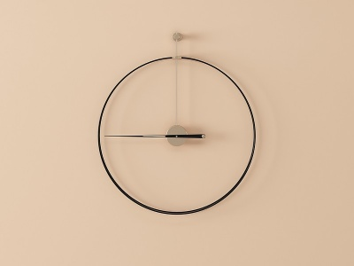 時鐘掛件模型3d模型