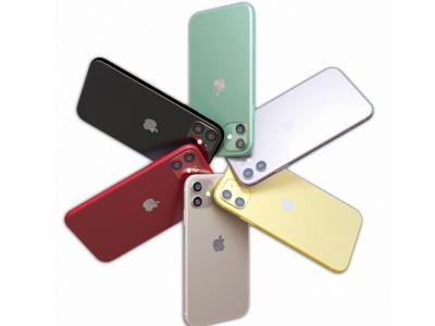 現代手機蘋果iPhone11模型3d模型