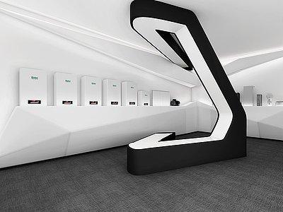 電器商業展廳模型3d模型