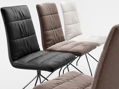 現代辦公椅模型3d模型