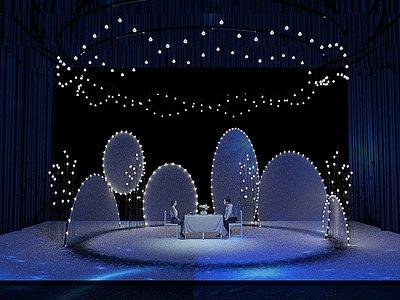 舞臺設計3d模型