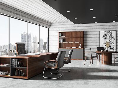 辦公室模型3d模型